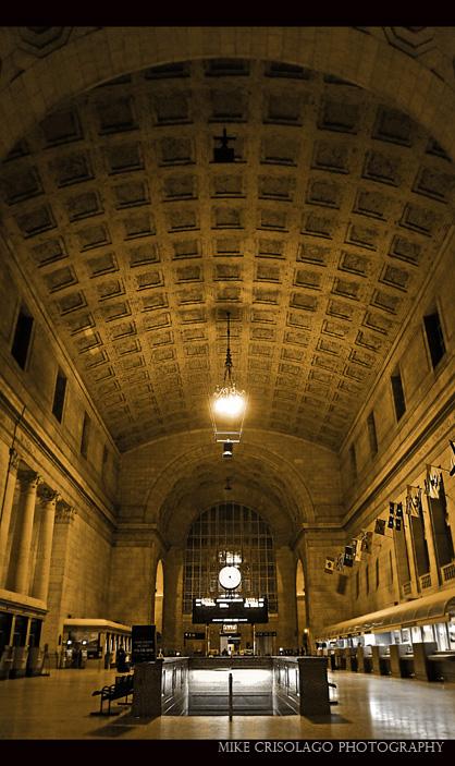 Toronto, Architecture, Union Station, Mike Crisolago, Snow