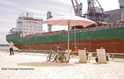 Sugar Beach, Toronto, Tanker, Mike Crisolago